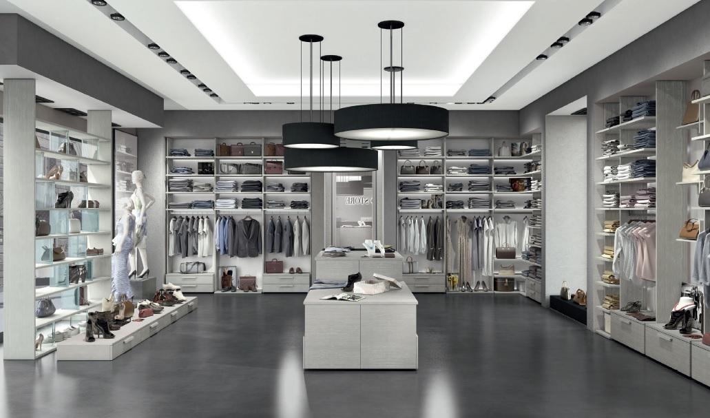 arredamento per negozio abbigliamento