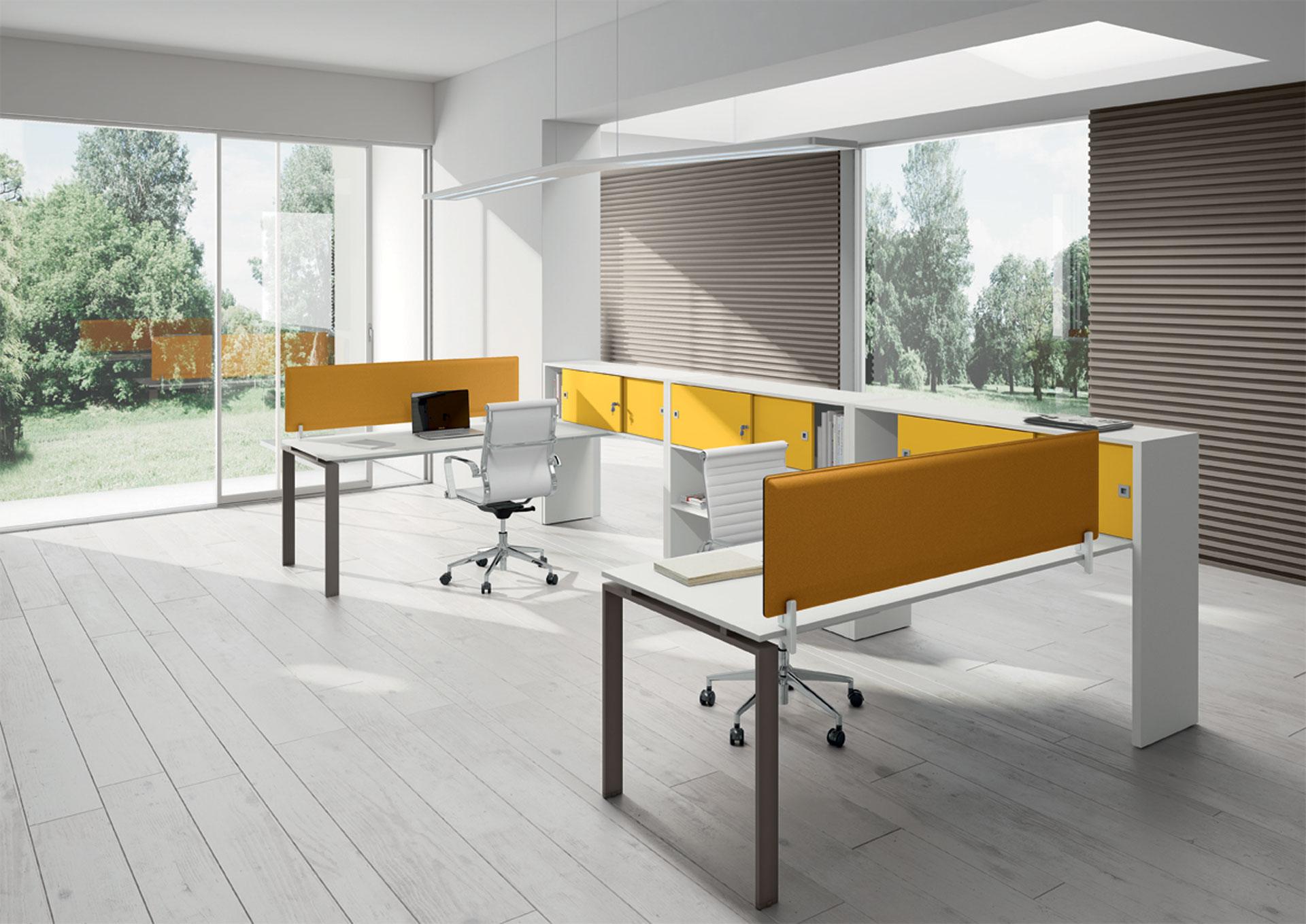 Ufficio operativo loft 1 arredamento per ufficio i for Mobili metallici per ufficio