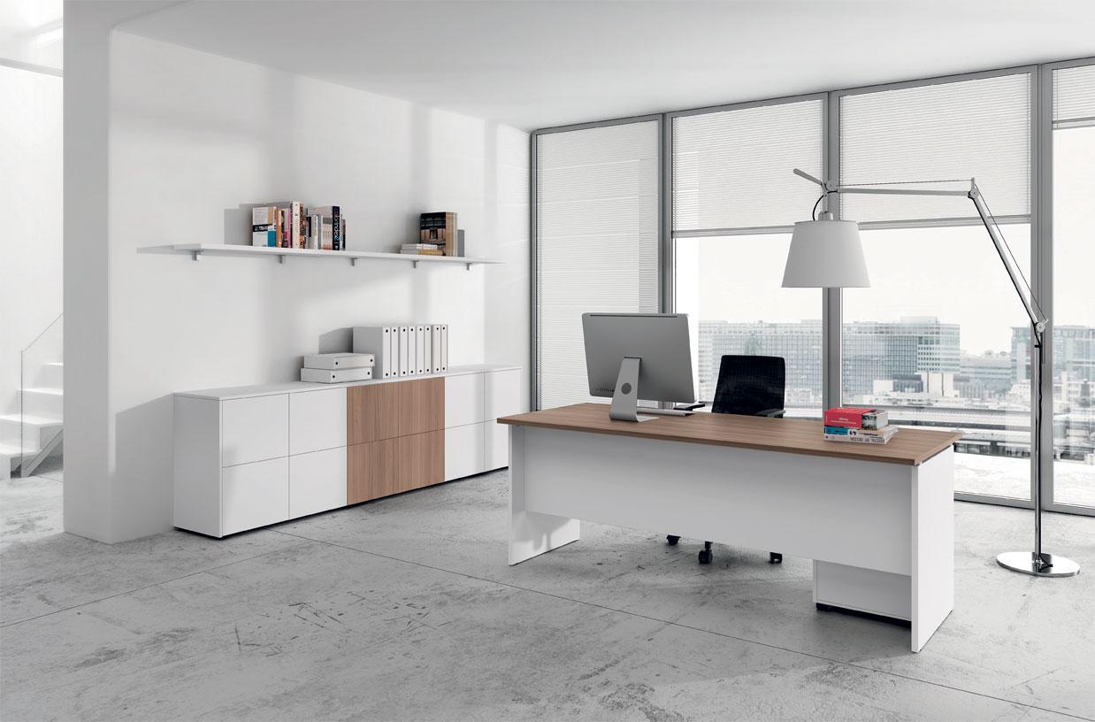 scrivania struttura legno
