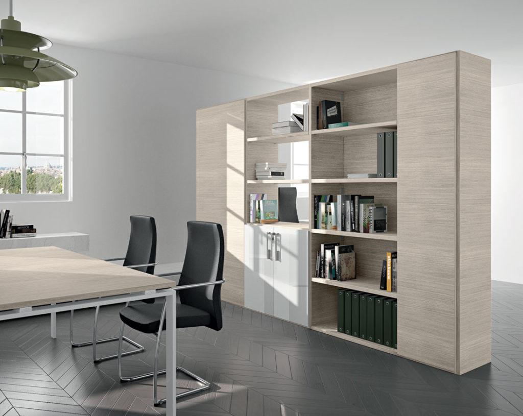 Libreria Vetrina Ufficio : Libreria ufficio componibili arredo ufficio