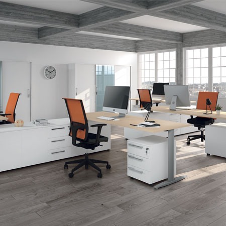 Arredamento per ufficio torino scrivanie operative for Arredamento per ufficio