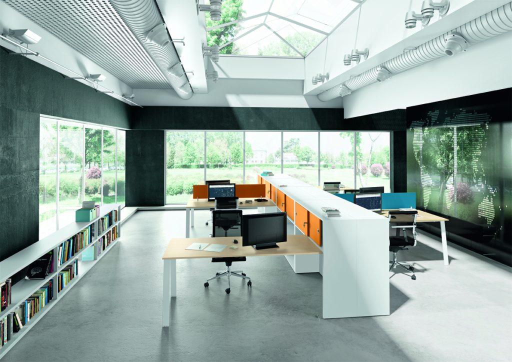 Arredamento Ufficio Torino : Ufficio operativo loft arredamento per ufficio i metallici