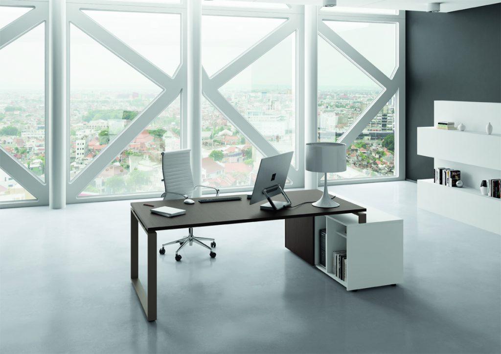 Scrivanie moderne scrivania direzionale loft for Arredo shop on line