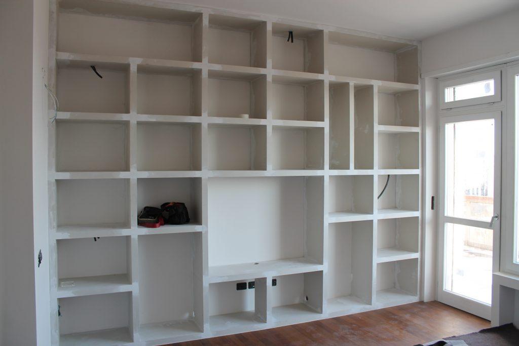 Libreria In Cartongesso Con Ante Scorrevoli.Realizzazioni Cartongesso Varie I Metallici Torino